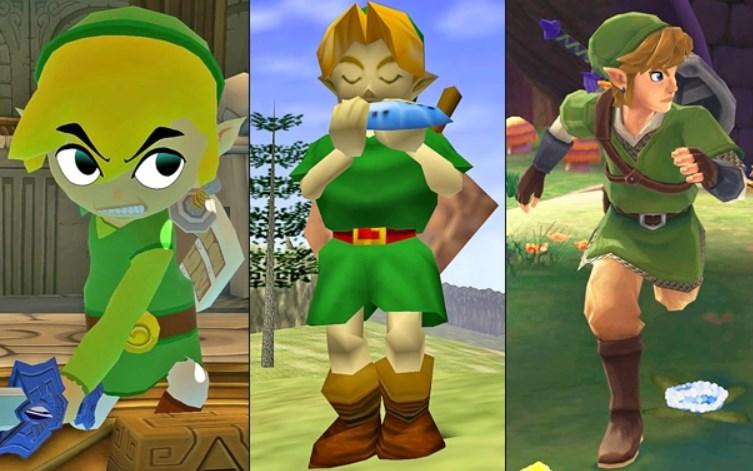 Por qué Legend of Zelda tiene un estilo artístico distinto en (casi) cada juego
