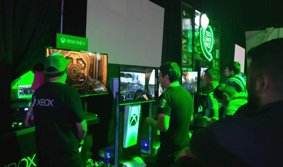 El booth de Xbox en AGS: Forza Horizon 4, la estrella