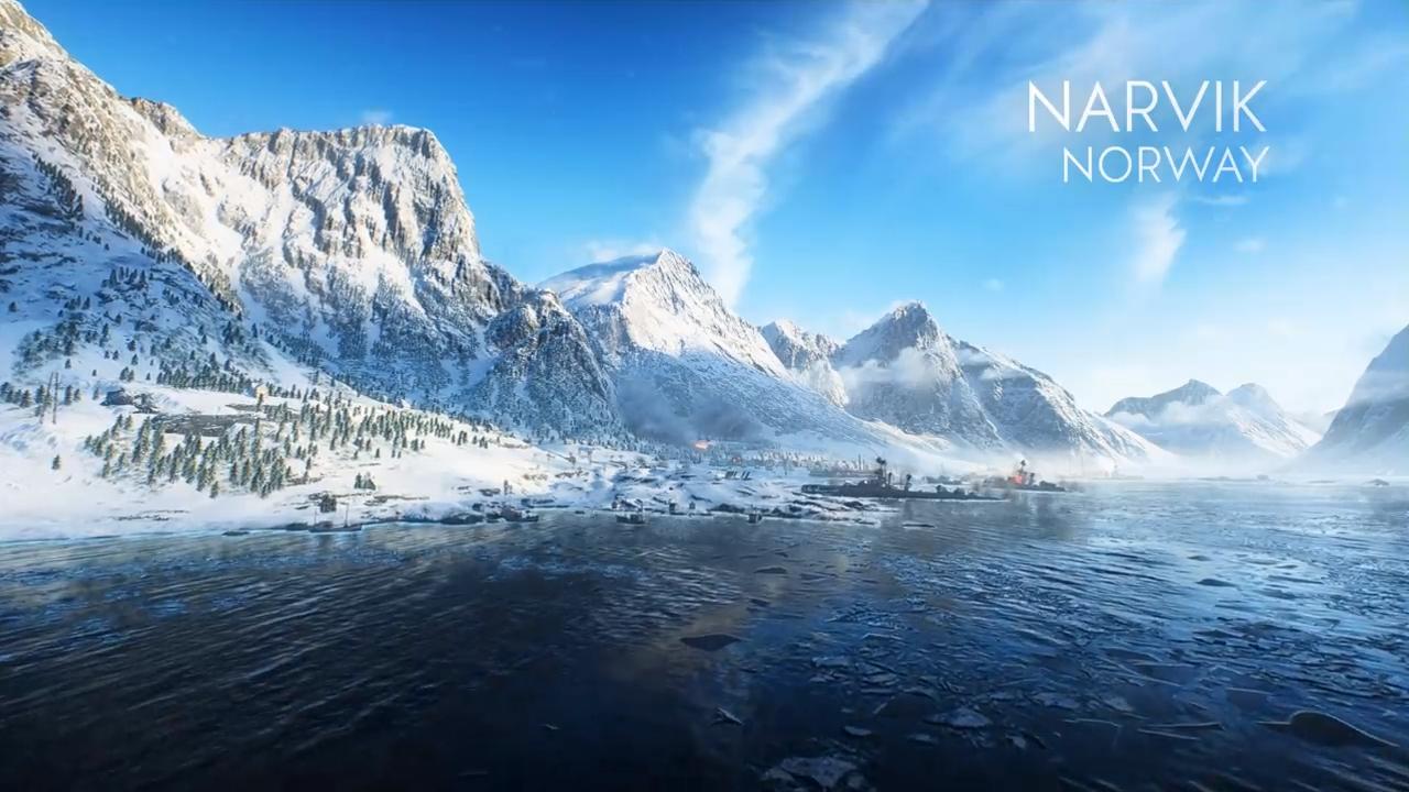 El último tráiler de Battlefield V repasa los mapas en los que tendremos que batallar