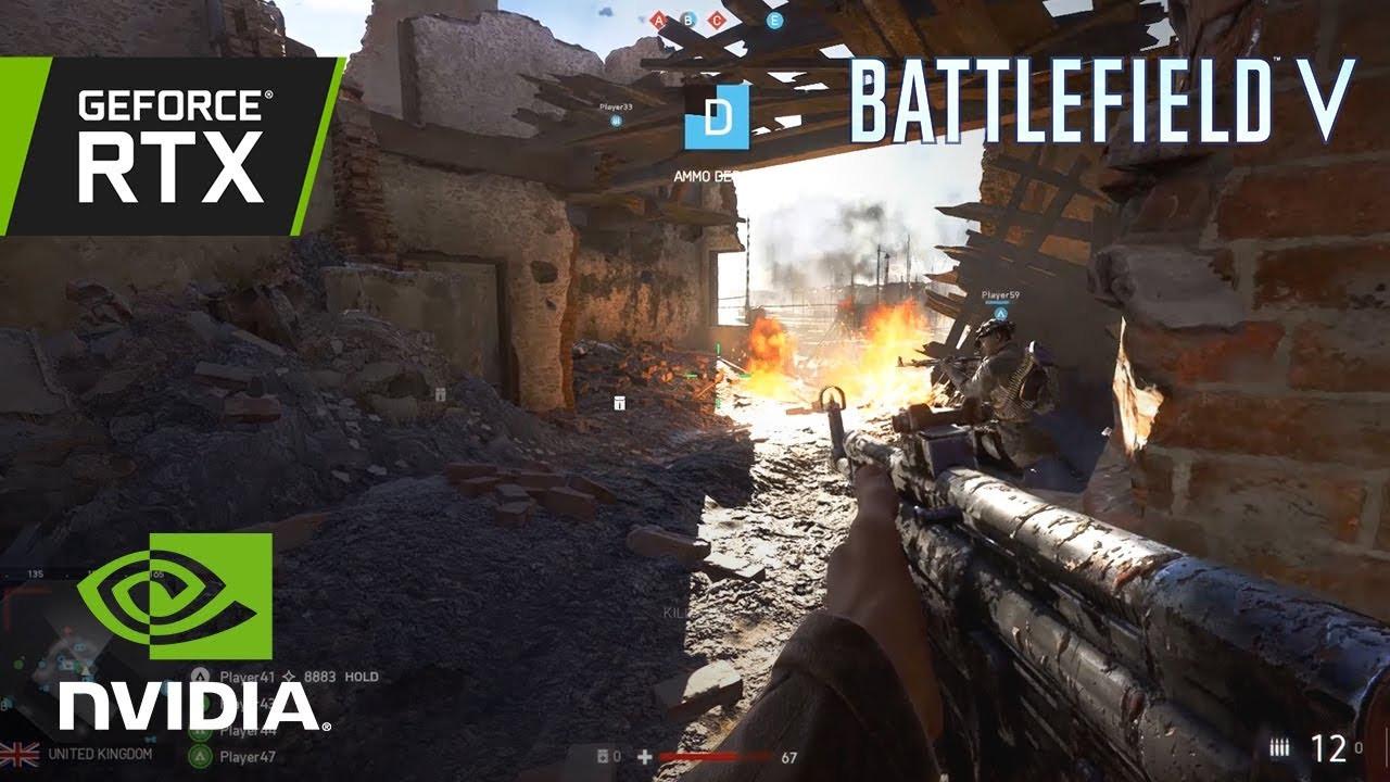Battlefield V añade soporte para Ray-Tracing en su parche de día cero