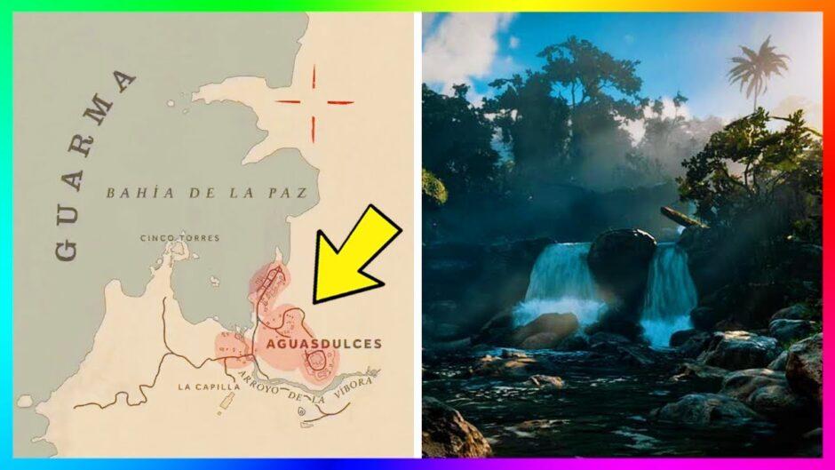 Descubren otra zona oculta en Red Dead Redemption 2: La Isla de Guarma