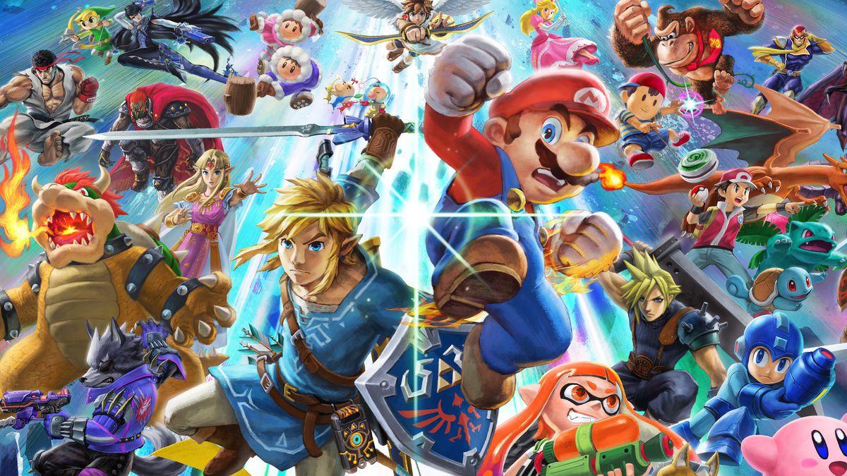 Crean un remake de la intro de Super Smash Bros. de 1999