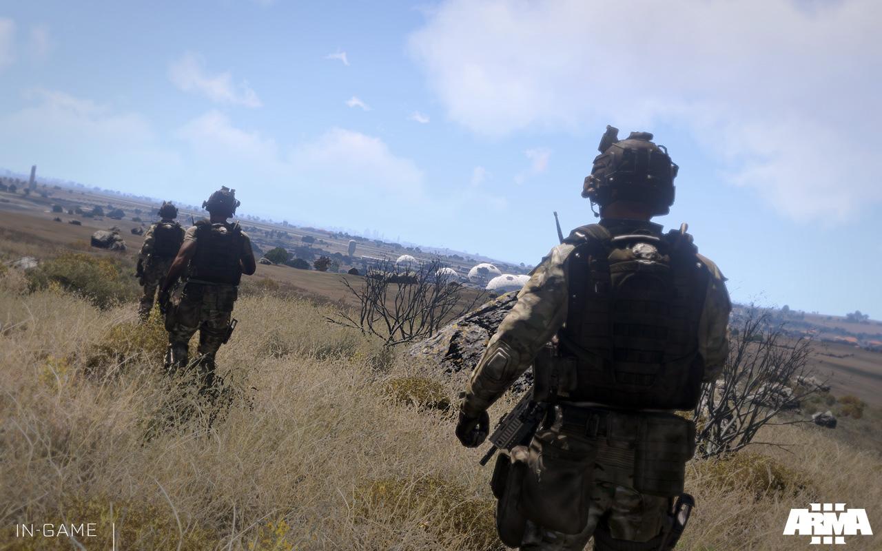 Arma 3 se actualiza con un nuevo modo, Warlords