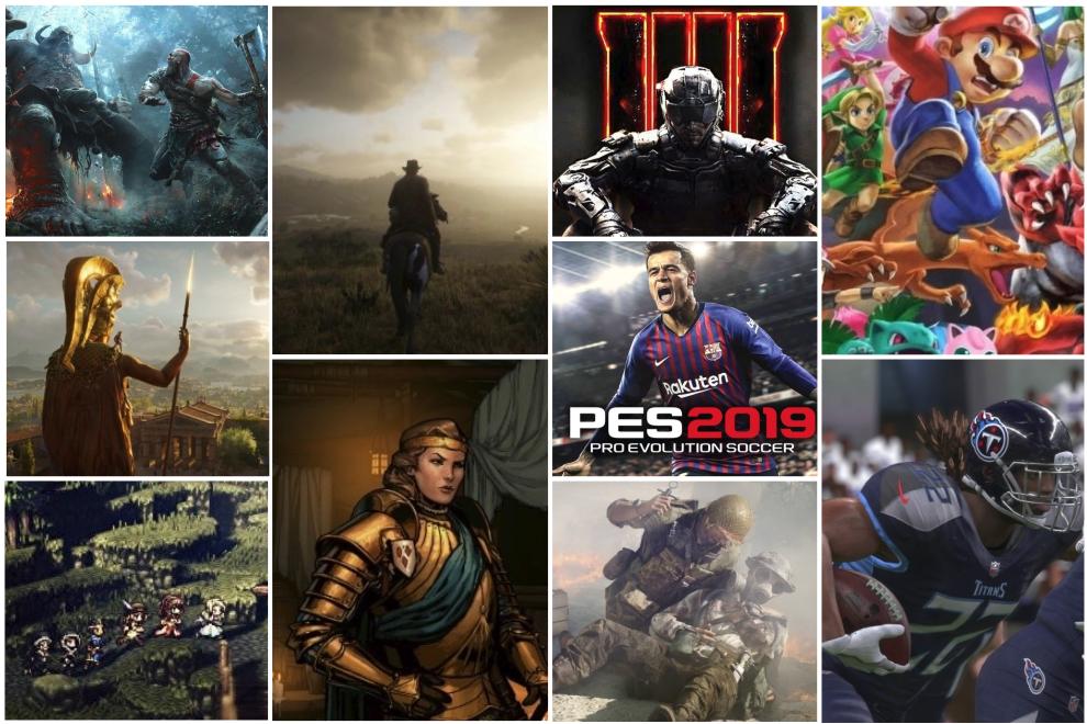 Estos son los 20 mejores juegos de 2018, el año de God of War y Red Dead Redempetion 2