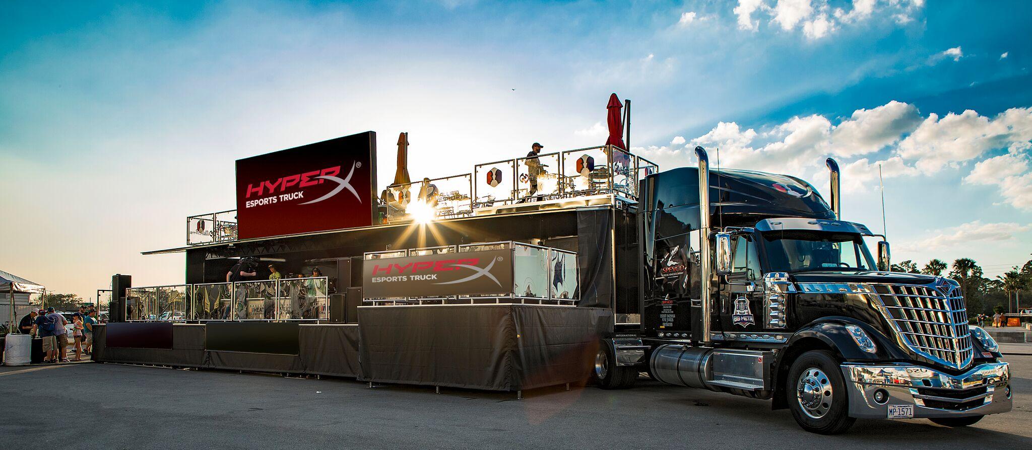 HyperX presente en la CES 2019 con el primer Mobile Esports Truck