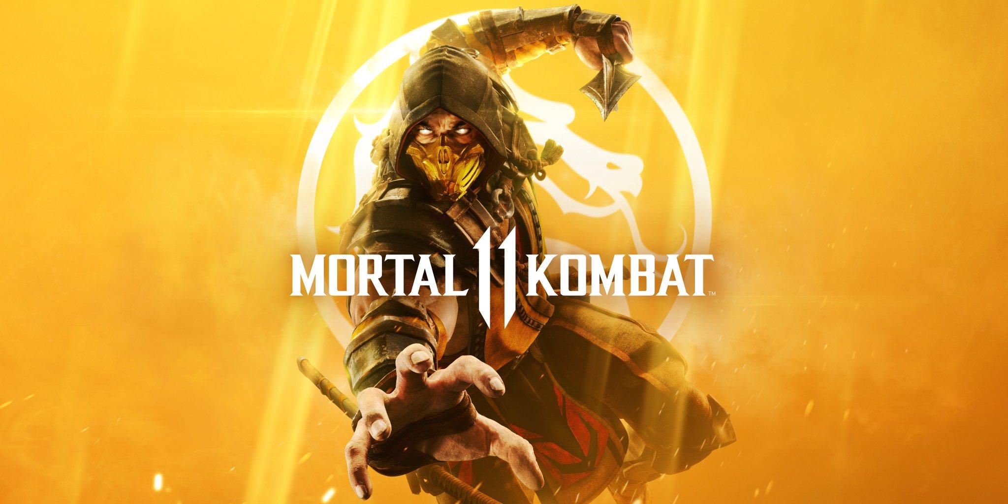 Mortal Kombat 11 revela su imagen de portada con Scorpion como protagonista