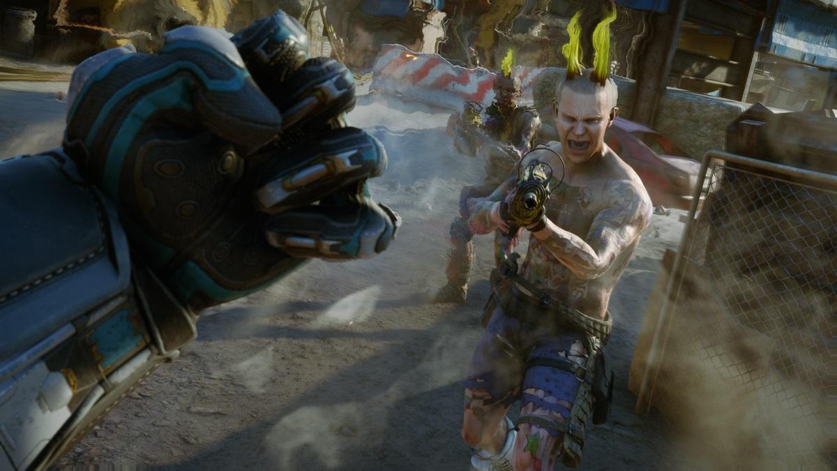Aseguran que Rage 2 promete alcanzar 60 fps en PS4 Pro y Xbox One X