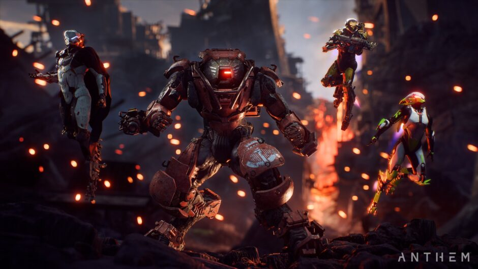 """""""This is Anthem – Parte 2"""" detalla el contenido Endgame del nuevo juego de EA"""