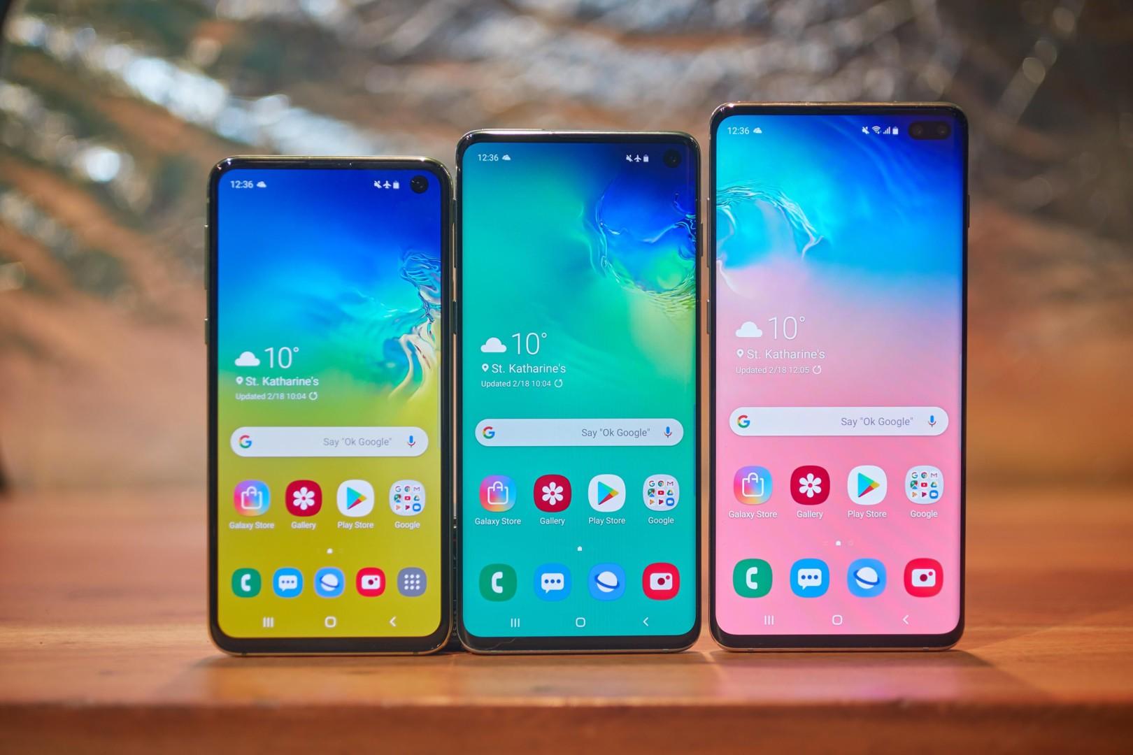 Se acabaron las filtraciones: Samsung presentó sus insignias Galaxy S10 Plus, Galaxy S10 y Galaxy S10e