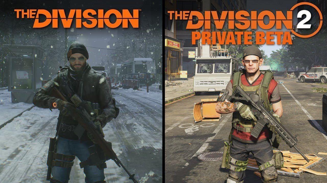 Este video compara la beta de The Division 2 con el primer The Division