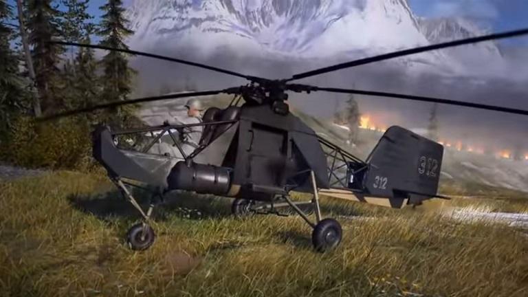 Se filtra el tráiler del modo Firestorm de Battlefield V, llega con un girocóptero