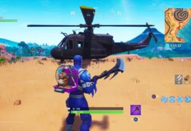 Lo nuevo en Fortnite: usuarios reportaron la presencia de un misterioso helicóptero