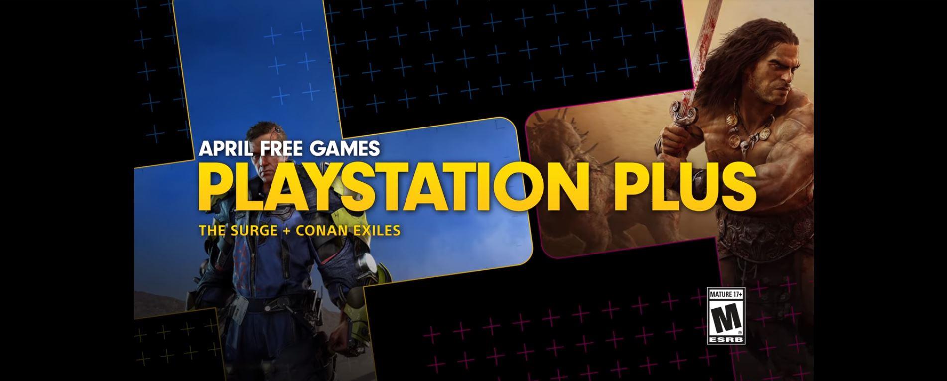 Estos son los juegos gratuitos de PlayStation Plus para Abril