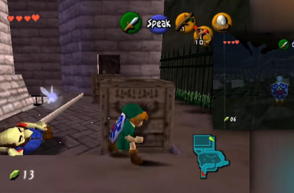 Cómo es The Legend of Zelda: Ocarina of Time en modo cooperativo online con 15 jugadores a la vez