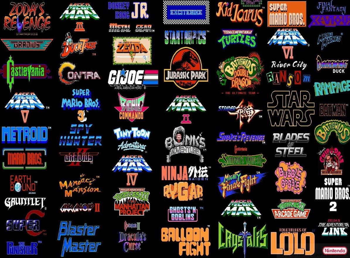 La lista de juegos de NES es grande: al menos 700 juegos hay en su biblioteca
