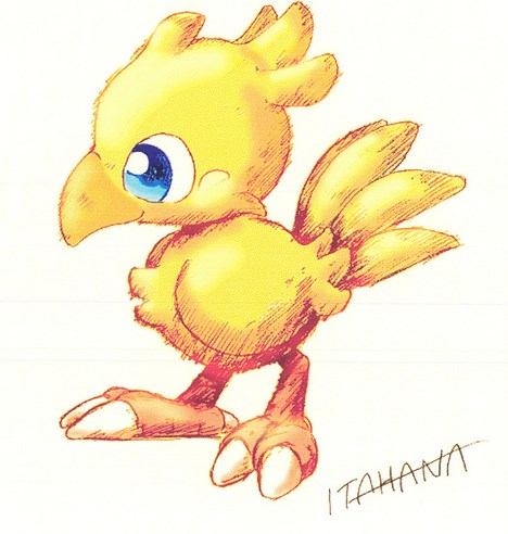 Adorables criaturas: chocobos