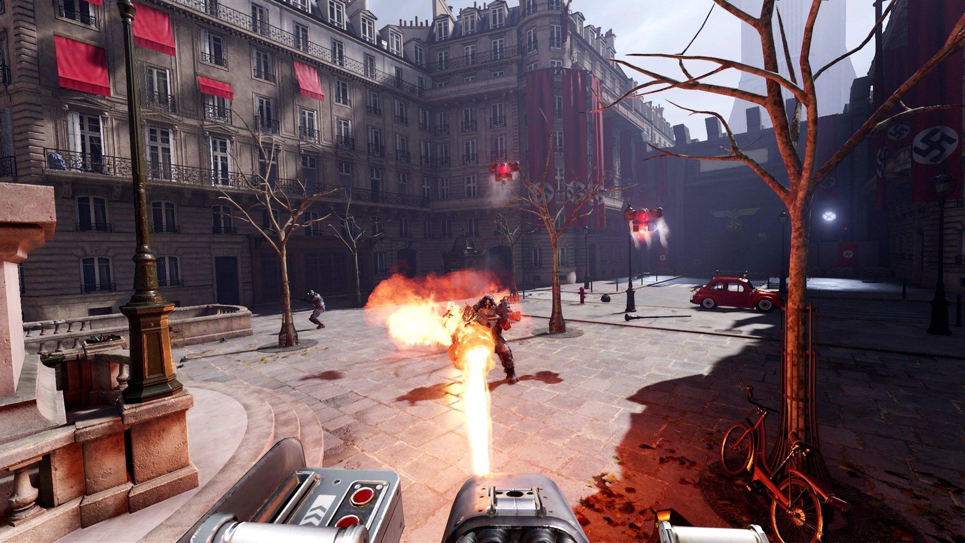 Wolfenstein: Cyberpilot para VR presentó nuevas imágenes de su gameplay