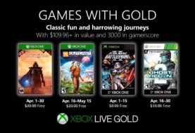 Xbox anunció los juegos gratuitos de Games With Gold para Abril
