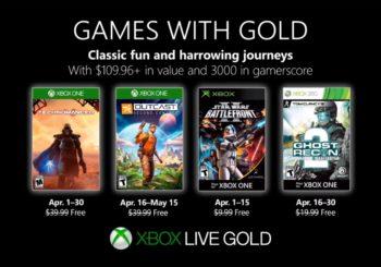 Xbox anunció los juegos gratuitos de Games With Gold para Abril