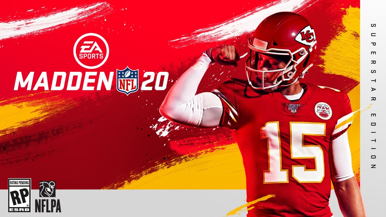 La flamante estrella de la NFL Patrick Mahomes estará en la portada de Madden 20 ¿romperá la maldición?