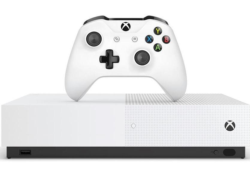 Xbox One S All Digital: Microsoft anunció su nueva consola sin lectora de discos