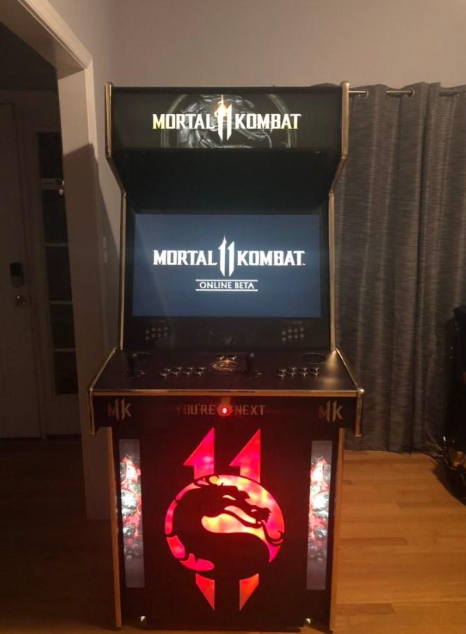 Mortal Kombat 11: el arcade que regalan oficialmente