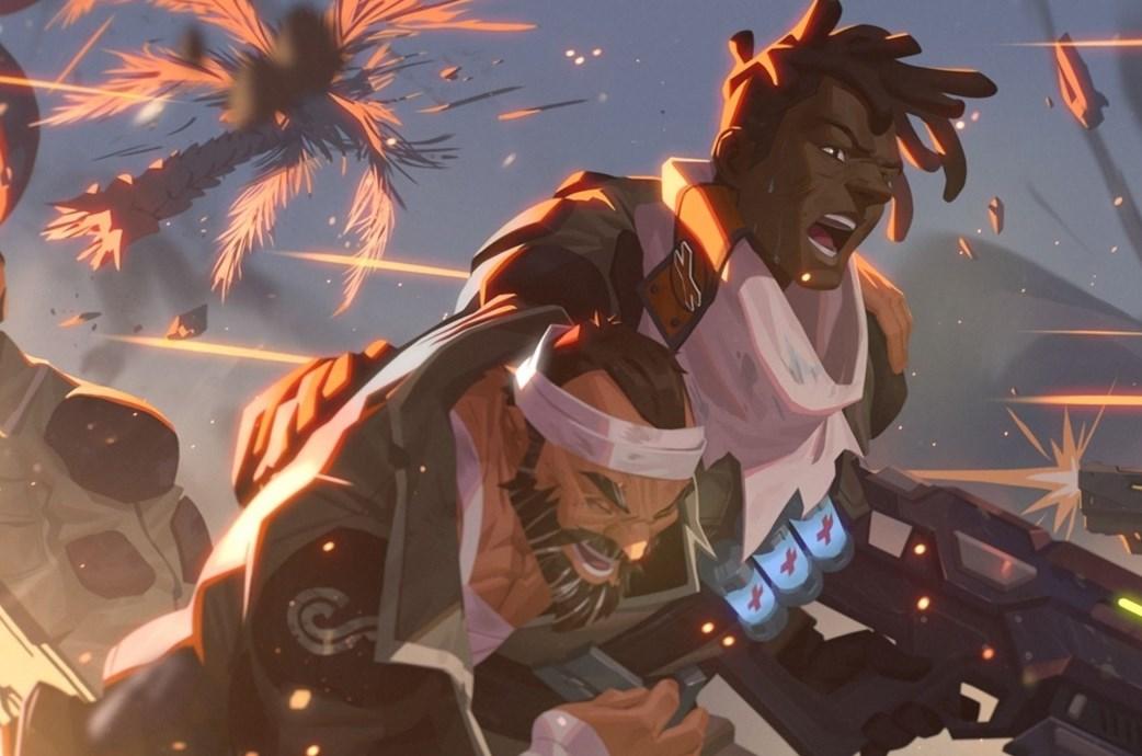 Overwatch presentó la primera skin de Tormenta Intermitente para Baptiste