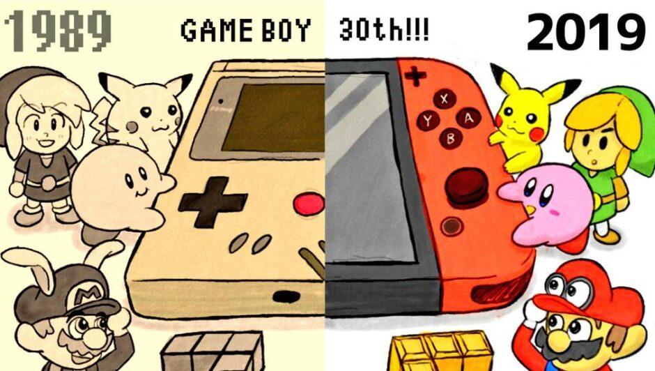 Los 30 años del Game Boy se celebraron en muchos lugares… sobre todo en internet
