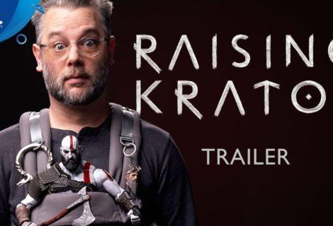"""""""Raising Kratos"""": el documental que cuenta cómo se hizo God of War para Playstation 4 se ve espectacular"""