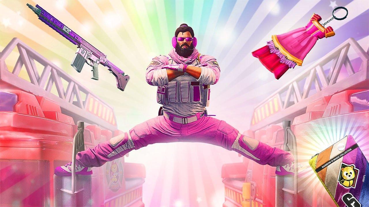 Rainbow is Magic, el desopilante evento del shooter de Ubisoft