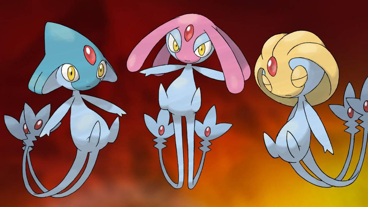 Pokémon GO suma tres pokémones legendarios