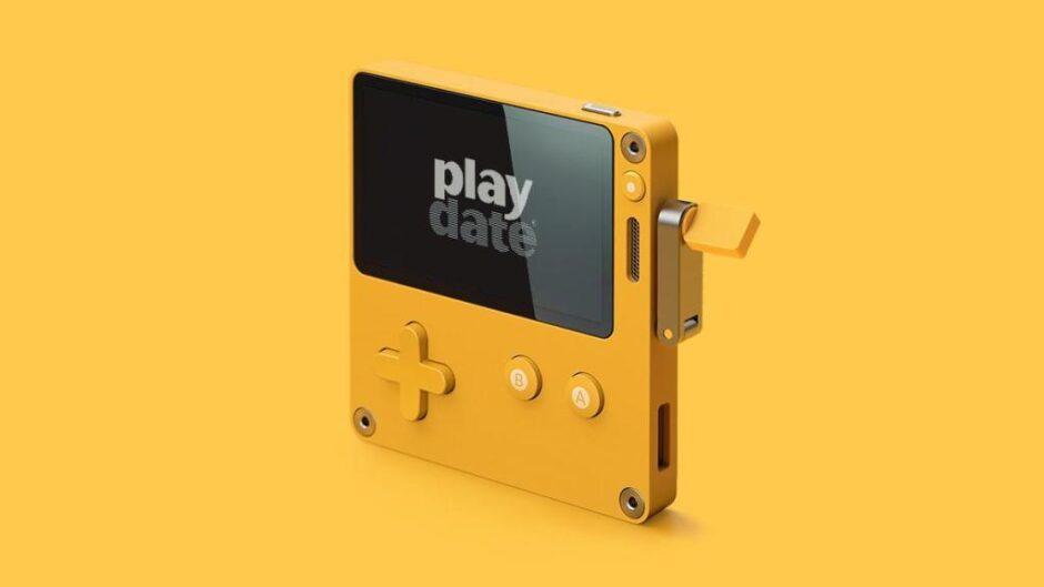 PlayDate, la consola que rememora a la Gameboy y se maneja con una manivela