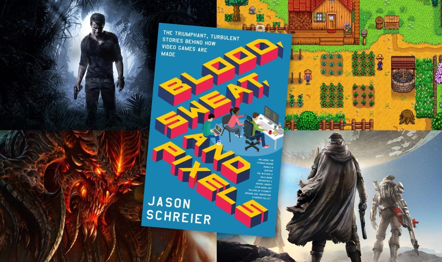 """""""Sangre Sudor y Pixels"""", el libro de Jason Schreier (Kotaku) que cuenta lo tortuoso y difícil que es lanzar un videojuego"""
