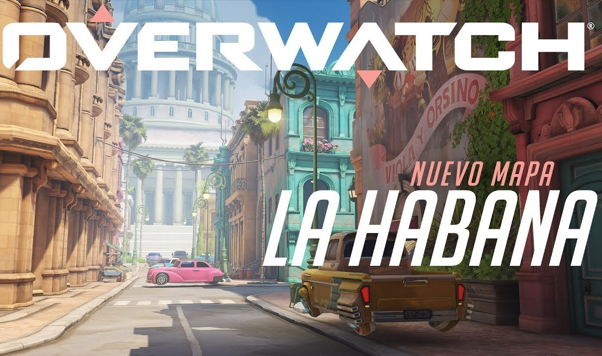 La Habana llegó a Overwatch: es vieja, clásica y se ve espectacular