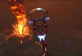 Un volcán hizo erupción en Fortnite: ¿se viene el final de la temporada 8?