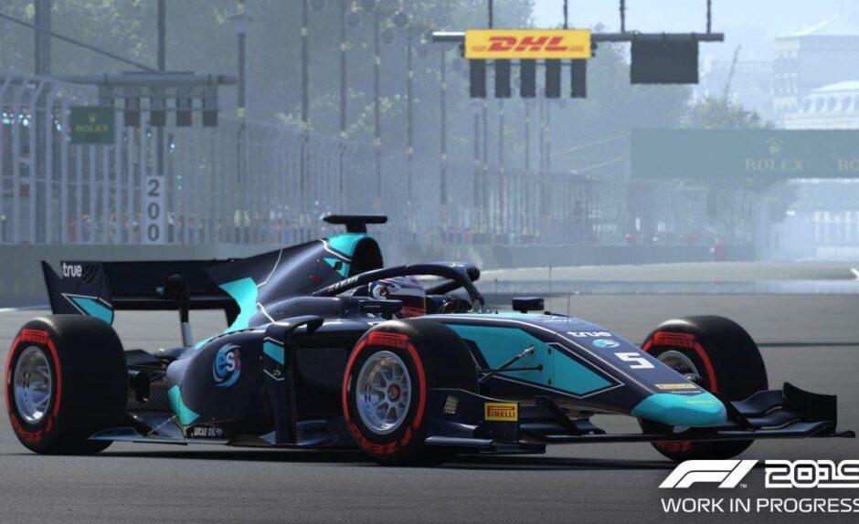 F1 2019 estrenó su primer tráiler y es tan realista que cuesta darse cuenta que es un juego