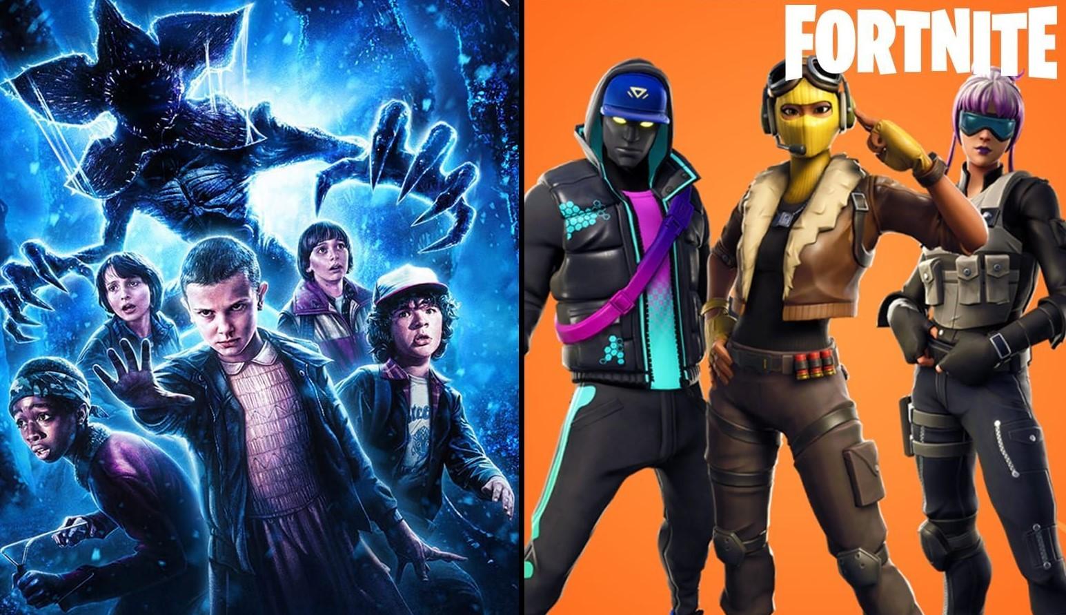 El nuevo crossover de Fortnite podría ser una verdadera bomba: Stranger Things
