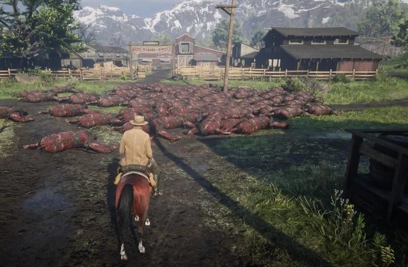 Red Dead Online: los jugadores encontraron un cementerio masivo de caballos