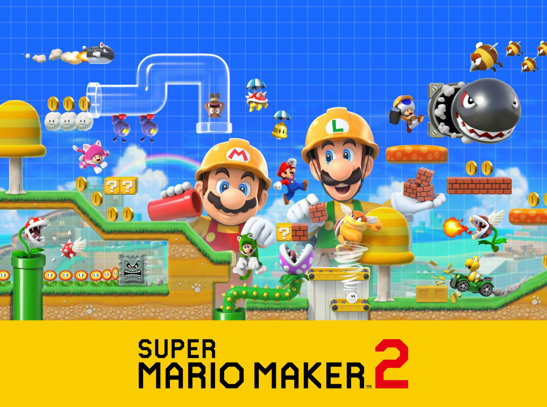 [Nintendo Direct] Super Mario Maker 2: tendrá modo historia, nuevas funciones y un multiplayer co-op