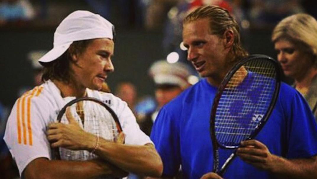 David Nalbandian y Guillermo Coria vuelven al tenis… de la mano de la red 5G de Personal