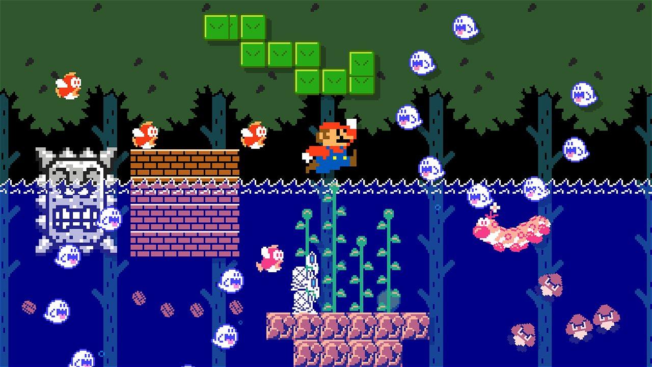 [FOTOGALERÍA] Super Mario Maker 2: así se ve la secuela del exitoso juego en el que veremos las creaciones más difíciles de la historia