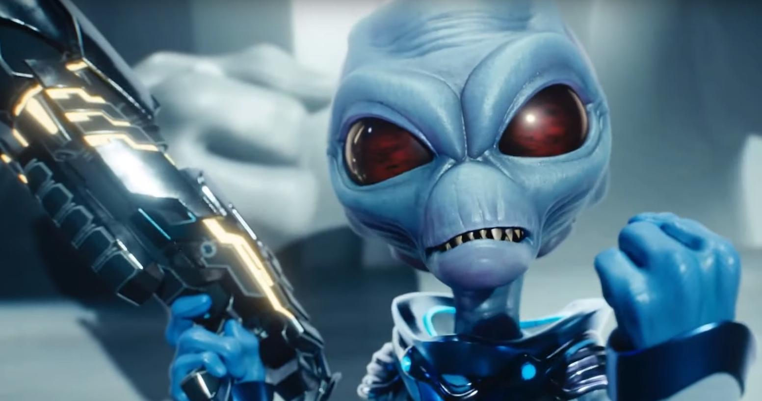 Vuelve un clásico: Destroy All Humans anuncia su regreso con un trailer demencial y musicalizado por Rammstein