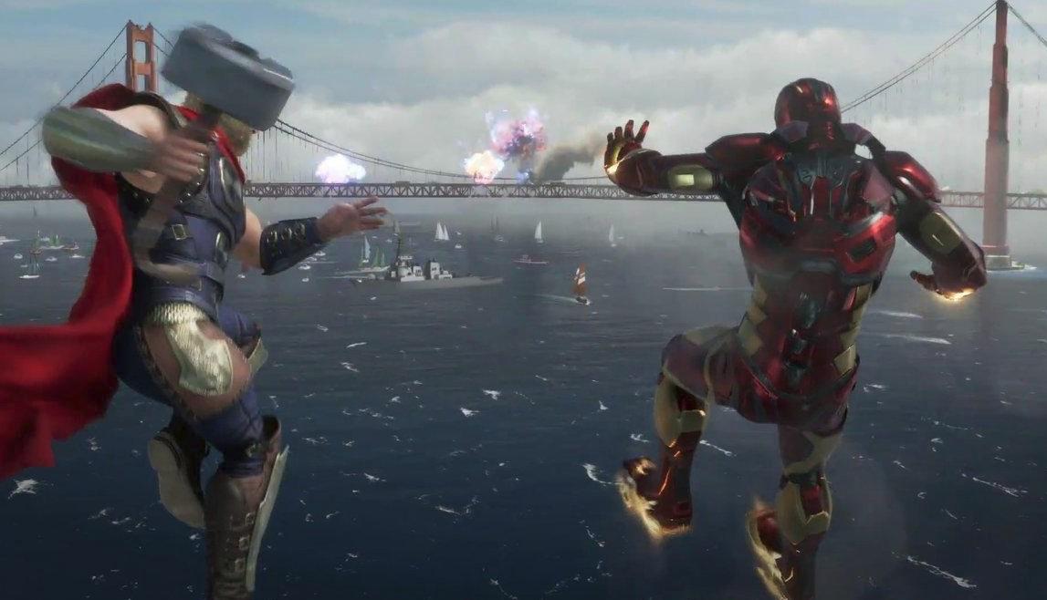 E3: el mundo de Marvel's Avengers no será abierto como muchos esperaban