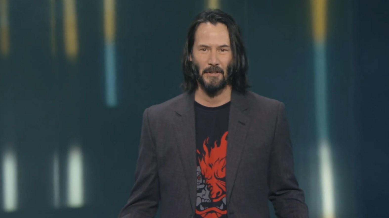 E3: La historia detrás del fan que le gritó a Keanu Reeves y la donación que hará CD Projekt por una buena causa