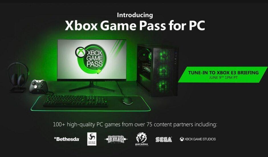 En la previa de su conferencia en E3, Xbox Game Pass fijó su precio mensual para PC