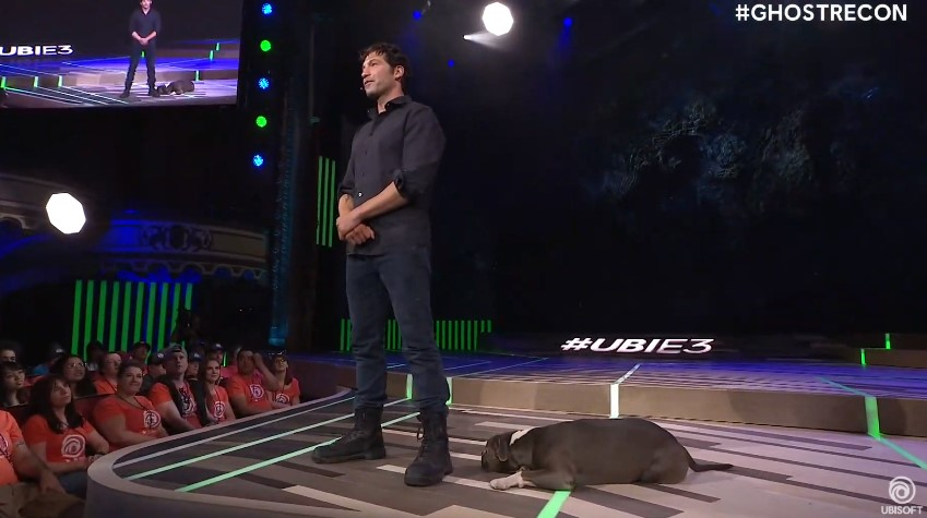 Jon Bernthal, actor, de Ghost Recon, en E3