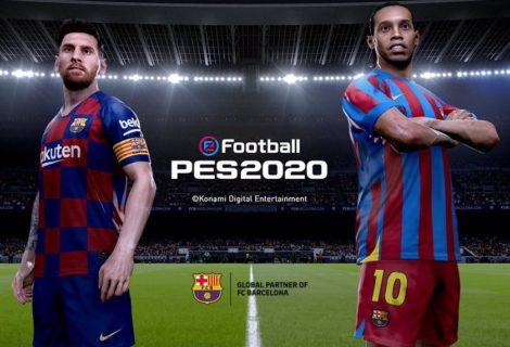Konami oficializó eFootball PES 2020 y ya tenemos tráiler, imágenes y fecha de lanzamiento