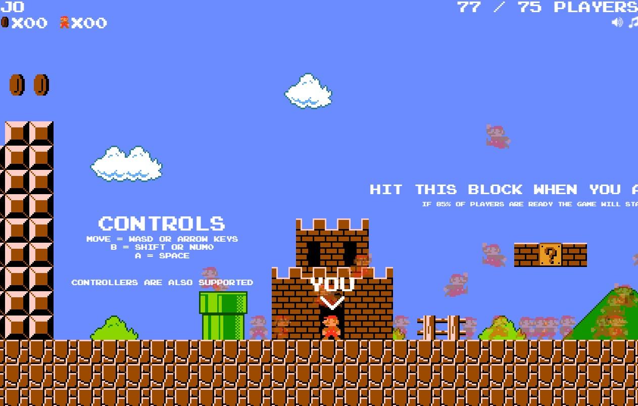 Super Mario Bros. Battle Royale: hasta el plomero más famoso del mundo llegó al género