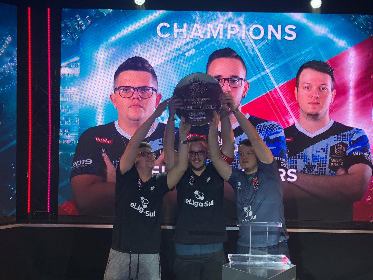 [FINAL] Eligasul Stars se quedó con el campeonato mundial del modo Co-Op de PES League 2019