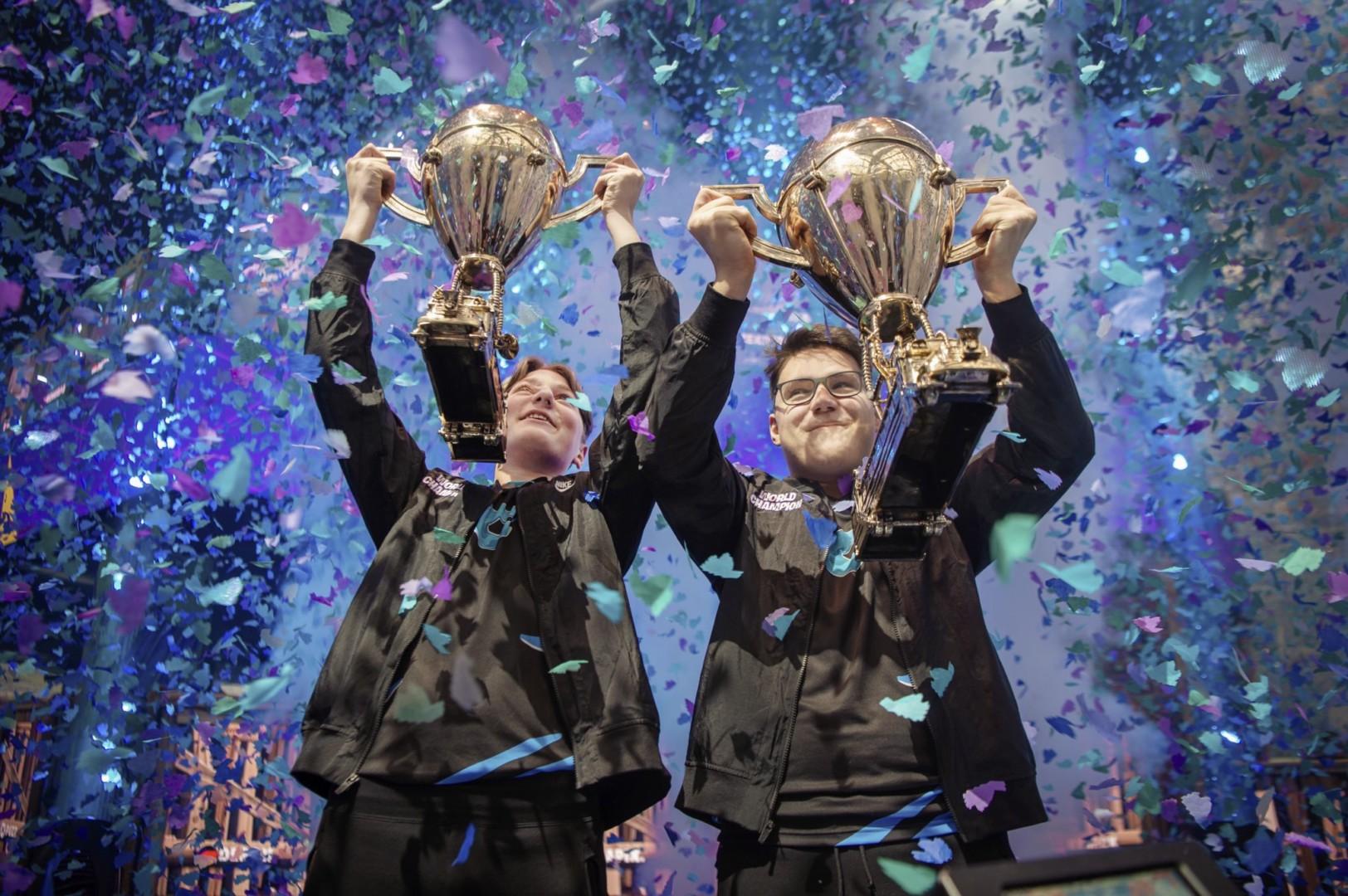 Fortnite World Cup: Nyhrox y Aqua se quedaron con el título en Dúos